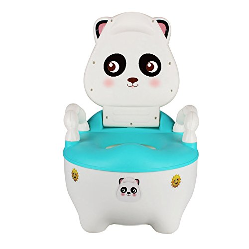 Children's toilet Enfants Toilette- Enfants Toilette Cartoon 1-3 Ans Tiroir Type Enfant Féminin Bébé Siège De Toilette Mâle Bleu PP Pot Urinoir