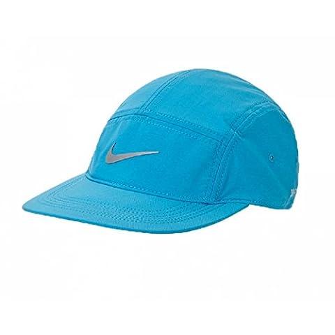 NIKE casquette pour femme athletic west 84 adjustable taille unique Bleu - Light Blue Lacquer/Black/Reflective Silver