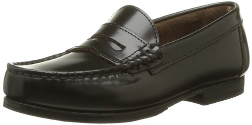 Start RitePenny - Basse Unisex - Bambini , marrone (Marron (Dark Brown Hi Shine Leather)), 34 EU