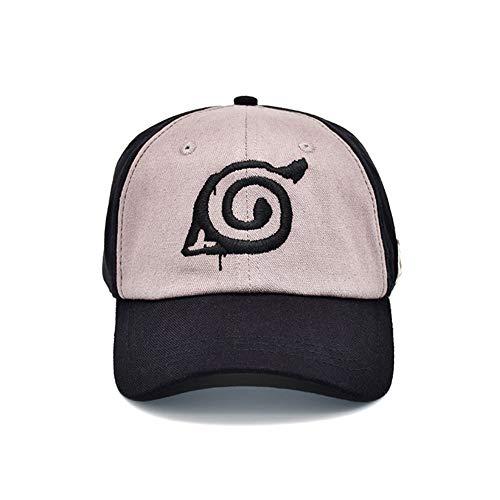 zhongjiany Männer Frauen Stickerei japanischen Anime Charaktere Baseball Cap Canvas Hut Snapback verstellbarer Hut(Free H02) -