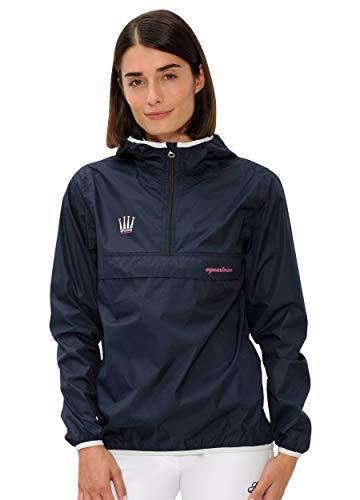 SPOOKS Damen Jacke, leichte Damenjacke mit Kapuze, Herbstjacke - Kaya Rain Jacket Navy L
