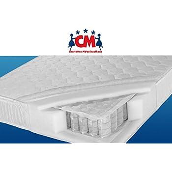 Tonnentaschenfederkern matratze  Tonnen-Taschenfederkernmatratze 160x200 cm Florence Plus ...