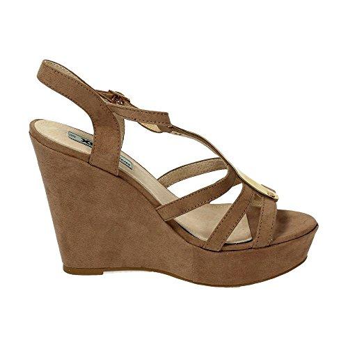 XTI , sandales femme Beige