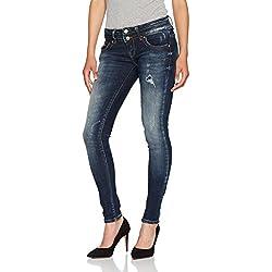 LTB Jeans Damen Skinny Jeans Julita X, Blau (Serene Wash 50338), W31/L34