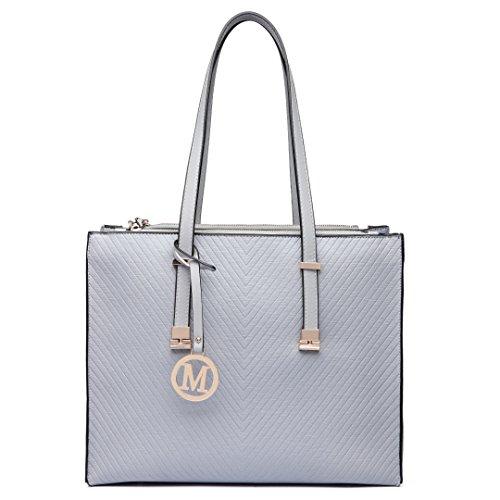 Miss Lulu ,  Damen Tasche 6636 Grey