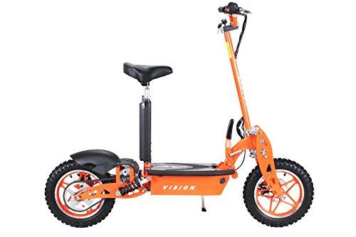 E-Scooter Roller Original E-Flux Vision mit 1000 Watt 36 V Motor Elektroroller E-Roller E-Scooter in vielen Farbe (orange) - 4
