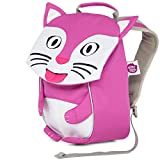 Affenzahn Kinderrucksack mit Brustgurt Kim Katze für 1-3 Jährige Jungen und Mädchen im Kindergarten oder Kita - Pink