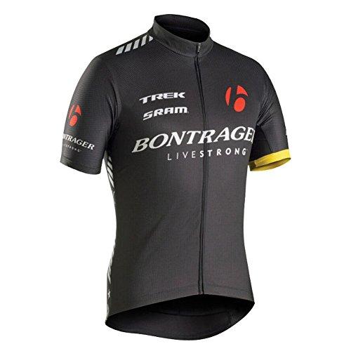 Strgao 2016 Herren Radtrikot Shirt Kurzarm Pro Team Trek MTB Radfahren Top Radshirt Atmungsaktiv Durchgehender Rei?verschluss