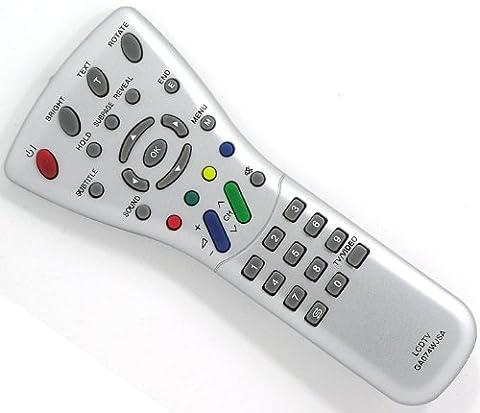 Télécommande de remplacement pour Sharp Aquos LCD GA074WJSA (LC-13S1E LC-20S1E LC-15L1E (Sharp Aquos)