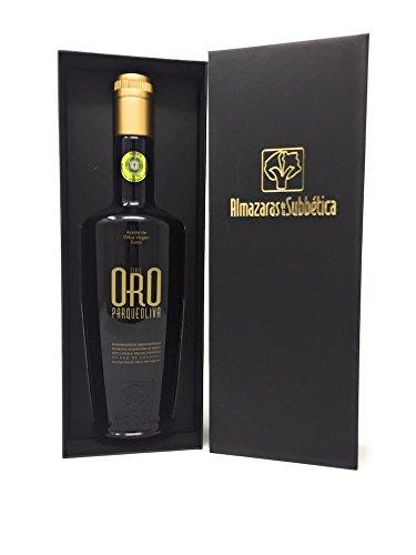 500Ml PARQUEOLIVA SERIE ORO + Estuche - Aceite de Oliva Virgen Extra por RuteCalidad SL