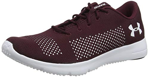 Under Armour UA Rapid, Scarpe Running Uomo, Rosso (Dark Maroon/White), 42.5 EU