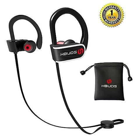 Casque Bluetooth 4.1 Écouteurs Audio Sans Fil Sport Hbuds H1