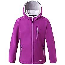 Eono Essentials Junior Softshell Jacket with Fixed Hood