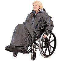 Ability Superstore Mac - Impermeable de manga larga para silla de ruedas (sin forro)