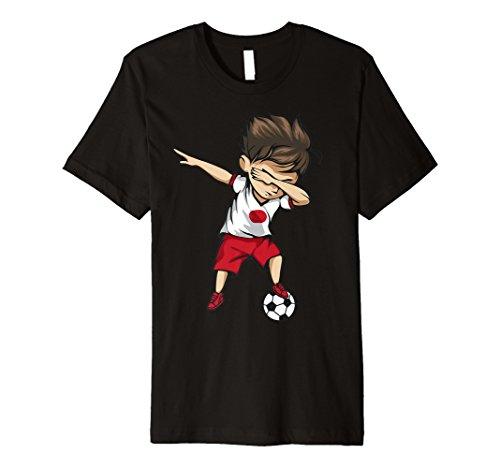 cd69d097756dd Dabbing Soccer Boy Japan Jersey Shirt - Japanese Football
