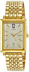 Timex Analog Champagne Dial Mens Watch-TW0TG6401