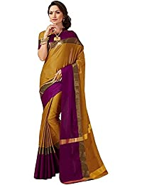 SAREE MALL Womens Art Silk Saree With Blouse (sarees Offer Below 500 Rs_2AURA2007_1)