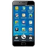 Ordissimo, Le Mini, Smartphone débloqué, 4G, (5 Pouces, 16Go, Micro SIM, Android 7.1, Bleu