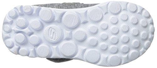 Skechers - Go Walk Bitty Bow, Scarpe da corsa Bambina Grey (Grey Multi)