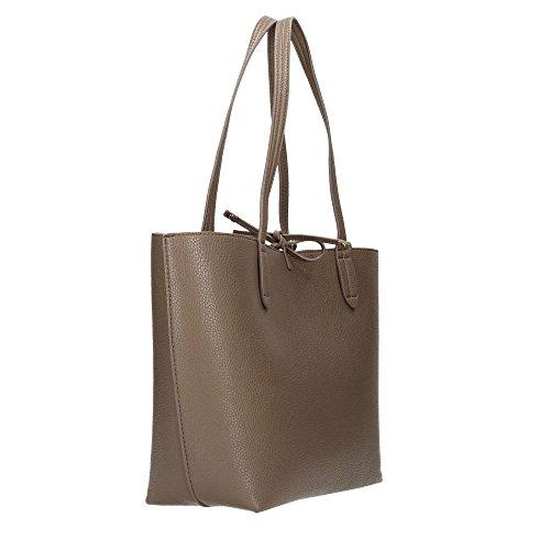Patrizia Pepe Double Shopper 30 cm uniform grey-goldcolored