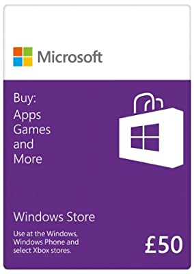 Windows Store - 15 GBP Gift Card [Online Code]