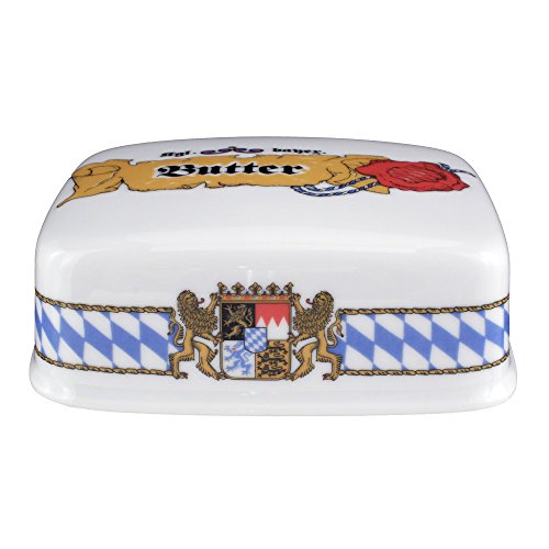 Deckel zur Butterdose 1/2 Pfd Compact Bayern 27110 von Seltmann Weiden - Compact Butterdose