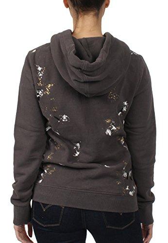 Superdry Sweater Damen PREMIUM GOODS DOODLE Heavy Metal Grey Grau
