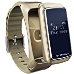 Smart Watch Heart Rate Monitor Sports Fitness Activity Tracker Sleep Counter Wireless Pedometer Touchpad - GOLD