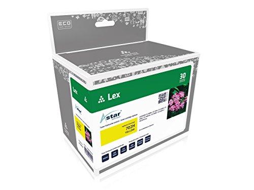 Preisvergleich Produktbild Astar AS13410 Toner kompatibel zu LEXMARK 702H, 3000 Seiten, gelb