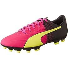 Amazon.es  Botas Futbol Puma - Rosa 35916231a336b