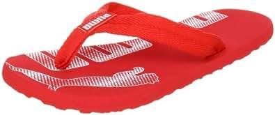 Puma Epic Flip Jr 353025 Unisex-Kinder Zehentrenner, Rot (high risk red-white 02), EU 34 (UK 1.5) (US 2.5)