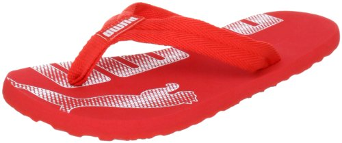 Puma Epic Flip Jr 353025 Unisex-Kinder Zehentrenner, Rot (high risk red-white 02), EU 37 (UK 4) (US 5)