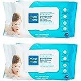 Mee Mee Multipurpose Gentle Baby Wipes (72 Pcs/Pack) (Pack Of 2)