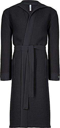 Taubert Kimono mit Kapuze Länge 120cm ... (L, anthrazit)