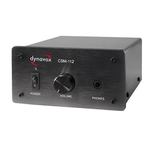 Dynavox CSM-112 Kopfhörerverstärker schwarz
