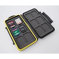 Estuche impermeable Anti-choque para tarjetas de memorias para combinaciones 12 x tarjetas SD