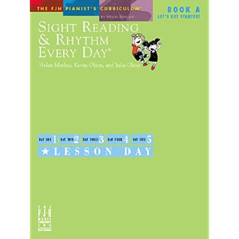 Sight Reading & Rhythm Every Day - Book A (Let's Get Started)