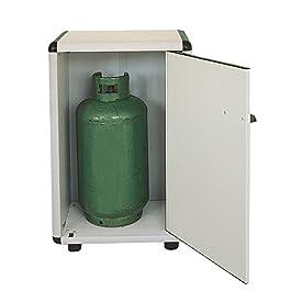 armadi PVC 90/1 portabombole colore grigio chiaro