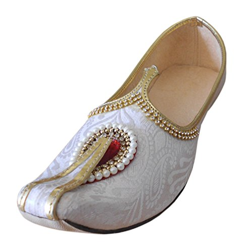 Kalra Creations , Chaussons pour homme Blanc