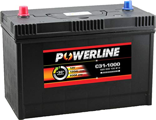 C31-1000 Powerline Auto Batteria 12V 120Ah