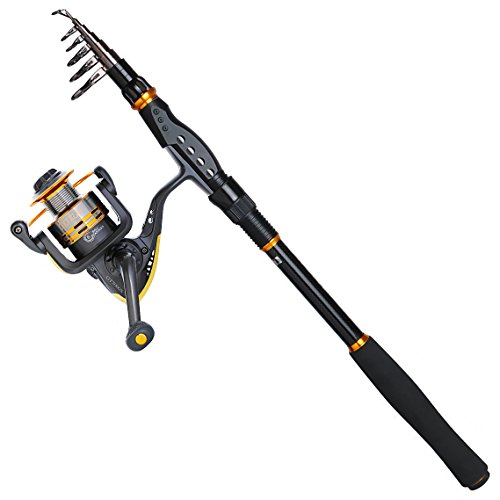 Saltwater Fishing Rod and Spinning Fishing Reel Sea Fishing Tackle Combo Set