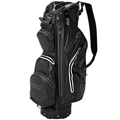 EccoCart Trolley Golf Tasche wasserdicht-14way Divider-9Taschen-schwarz -