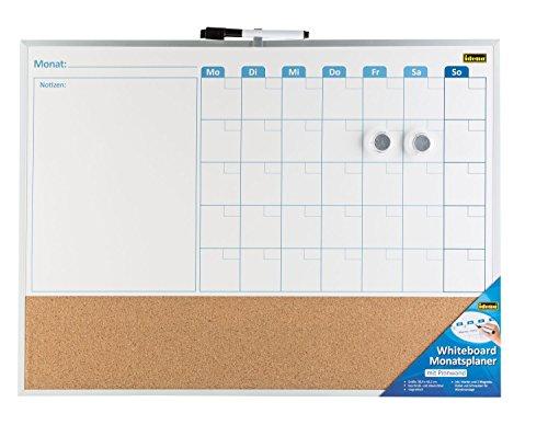 idena-22317-whiteboard-monatsplaner-mit-pinnwand