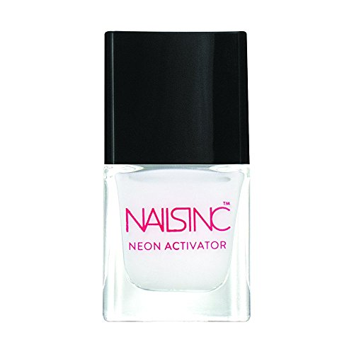 Nails Inc Vernis à ongles Néon Base Blanche, Activateur