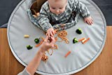 Kit bandeja y babero Tidy Tot. De 6 a 24 meses. Alimentación complementa. (Gris Perla)