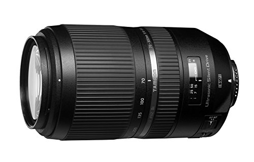Tamron SP A030N 70-300mm F/4-5.6 Di VC USD Lens for Nikon DSLR Camera (Black)