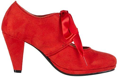 Hirschkogel by Andrea Conti0591504 - Scarpe con Tacco Donna Rosso (rouge (rot 021))