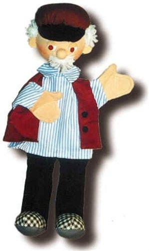 Marioneta de peluche Abuelo 40cm de trullala