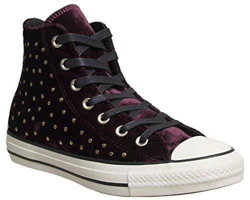 Lila Converse Sneakers (Converse - Converse Ctas Hl Damen Sportschuhe Lila - Lila, 39,5)