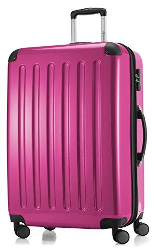 Hauptstadtkoffer coque série alex valise à roulettes 119 l magenta reisegutschein brillant - 20